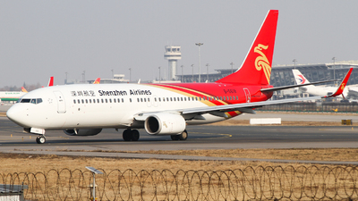 A picture of B5618 - Boeing 73787L - Shenzhen Airlines - © zhuenxu2003