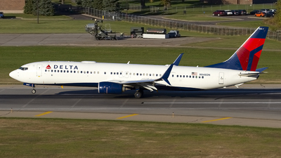 A picture of N848DN - Boeing 737932(ER) - Delta Air Lines - © Jeremy D. Dando
