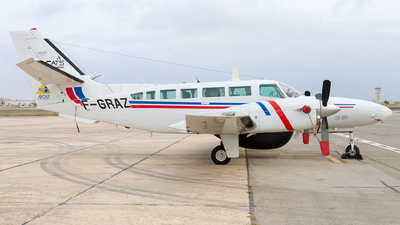 F-GRAZ - Reims-Cessna F406 Caravan II - Aviation Defense Service (AVdef)