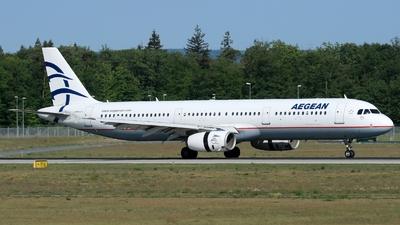 SX-DGT - Airbus A321-231 - Aegean Airlines
