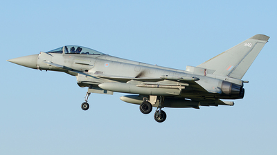 ZJ949 - Eurofighter Typhoon FGR.4 - United Kingdom - Royal Air Force (RAF)