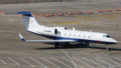 B-8308 - Gulfstream G450 - Private