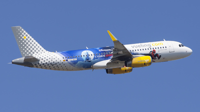 EC-MYC - Airbus A320-232 - Vueling Airlines