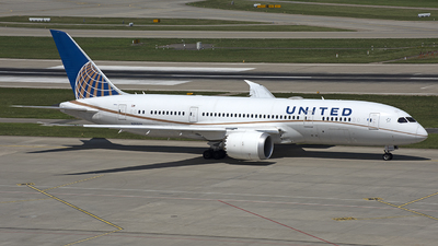 A picture of N26909 - Boeing 7878 Dreamliner - United Airlines - © Kurt Kolb