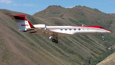 N884SG - Gulfstream G550 - Private