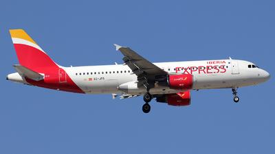 EC-JFG - Airbus A320-214 - Iberia Express