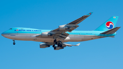 HL7601 - Boeing 747-4B5F(SCD) - Korean Air Cargo
