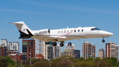 LV-CVQ - Bombardier Learjet 45 - Private