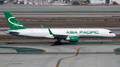 N757QM - Boeing 757-29J(SF) - Asia Pacific Airlines