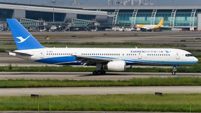 A picture of B2862 - Boeing 75725C - Xiamen Air - © ZGGG RWY01