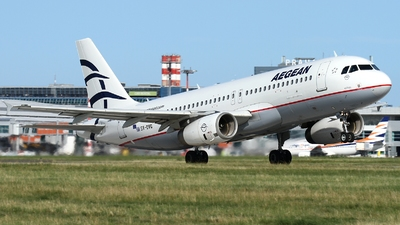 A picture of SXDVG - Airbus A320232 - Aegean Airlines - © AL-Alan Lebeda
