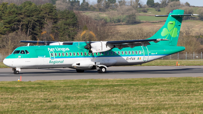 A picture of EIFAV - ATR 72600 - Aer Lingus - © Dominic Hall