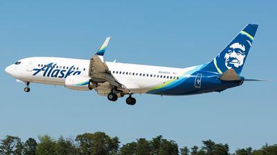 N549AS - Boeing 737-8FH - Alaska Airlines
