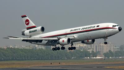 S2-ACP - McDonnell Douglas DC-10-30 - Biman Bangladesh Airlines
