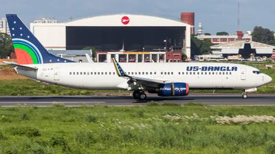S2-AJB - Boeing 737-8Q8 - US-Bangla Airlines