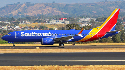 N8707P - Boeing 737-8 MAX - Southwest Airlines