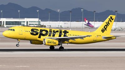 A picture of N603NK - Airbus A320232 - Spirit Airlines - © Yixin Chen