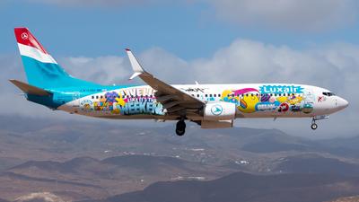 A picture of LXLGU - Boeing 7378C9 - Luxair - © Pablo Gonzalez de Leon