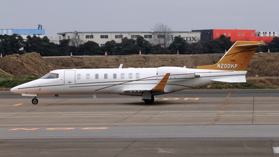 N200KP - Bombardier Learjet 45 - Private