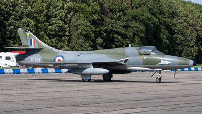 XL565 - Hawker Hunter T.7 - United Kingdom - Royal Air Force (RAF)
