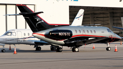 N375TC - Raytheon Hawker 800 - Private
