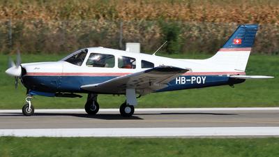 HB-PQY - Piper PA-28R-201 Arrow - Motorfluggruppe Langenthal