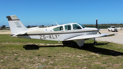 ZS-KLY - Beechcraft F33A Bonanza - Private