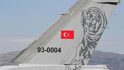 93-0004 - General Dynamics F-16C Fighting Falcon - Turkey - Air Force