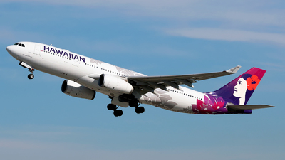 A picture of N388HA - Airbus A330243 - Hawaiian Airlines - © Angel Natal