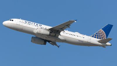 A picture of N472UA - Airbus A320232 - United Airlines - © William Vignes