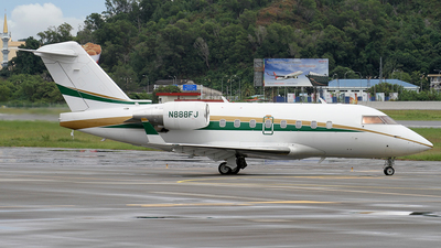 A picture of N888FJ - Bombardier Challenger 601 - [5178] - © waiping