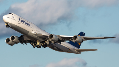 A picture of DABYM - Boeing 747830 - Lufthansa - © Kevin Cargo