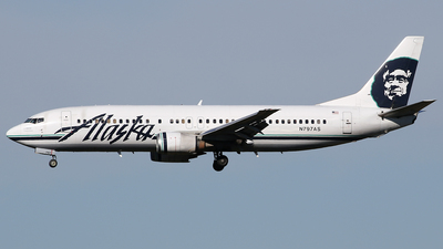 N797AS - Boeing 737-490 - Alaska Airlines