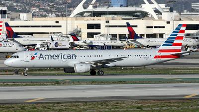 N163US - Airbus A321-211 - American Airlines