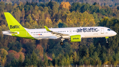 A picture of YLCSG - Airbus A220300 - Air Baltic - © Mikko Heiskanen