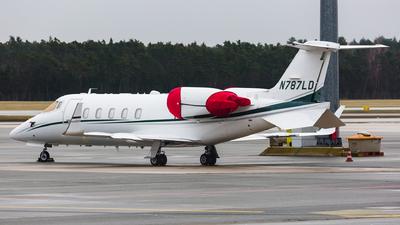 N787LD - Bombardier Learjet 60XR - Private