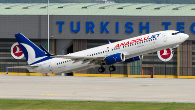 A picture of TCSCF - Boeing 7378AL - Turkish Airlines - © Alp AKBOSTANCI