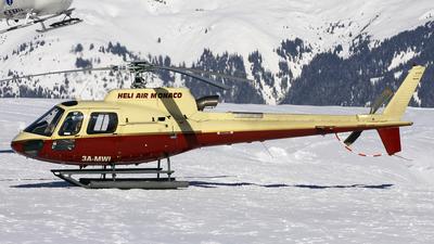 3A-MWI - Eurocopter AS 350B3 Ecureuil - Heli Air Monaco