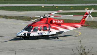 D-HBGR - Sikorsky S-76B - Germany - Bundesanstalt für Geowissenschaften und Rohstoffe
