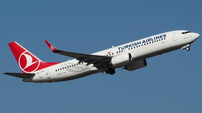 A picture of TCJVP - Boeing 7378F2 - Turkish Airlines - © Furkan Borakazi