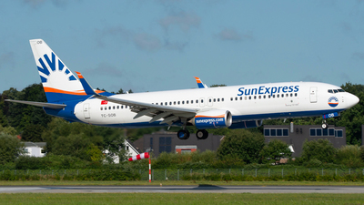 A picture of TCSOB - Boeing 7378HC - SunExpress - © Spotter BRE