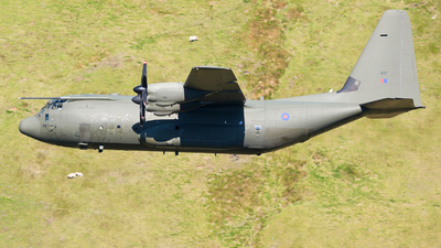 ZH887 - Lockheed Martin Hercules C.5 - United Kingdom - Royal Air Force (RAF)