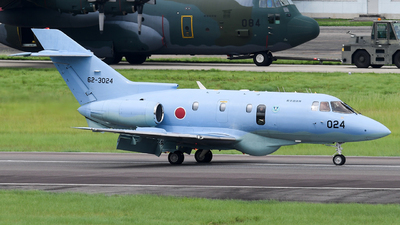 62-3024 - Raytheon U-125A - Japan - Air Self Defence Force (JASDF)