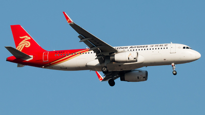 A picture of B8413 - Airbus A320232 - Shenzhen Airlines - © william8252