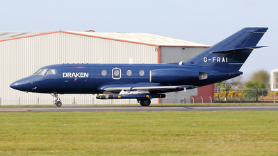 G-FRAI - Dassault Falcon 20E - Draken Europe