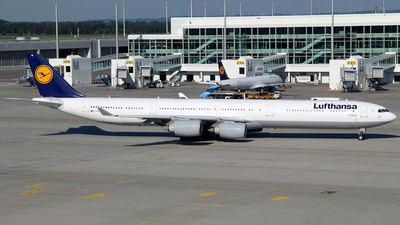 D-AIHL - Airbus A340-642 - Lufthansa