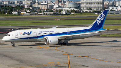 JA811A - Boeing 787-8 Dreamliner - All Nippon Airways (ANA)