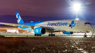 F-HREY - Airbus A350-941 - French Bee