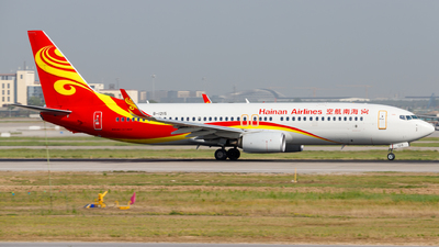 A picture of B1215 - Boeing 73784P - Hainan Airlines - © H.C.