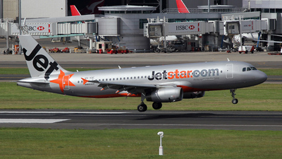 VH-VQC - Airbus A320-232 - Jetstar Airways